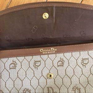 Authentic Christian Dior Vintage Logo Wallet